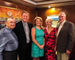 PES Founder and Owners: Jim McCray, DDS, Mark and Carey Kaspari and Dr. William and Joann