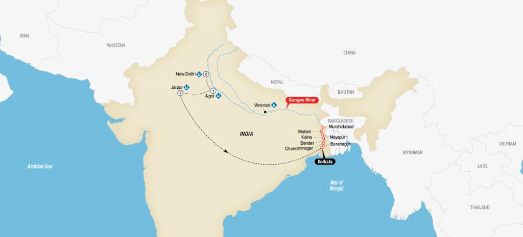 MAP-2018-India
