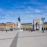 Plaza del Comercio en Lisboa