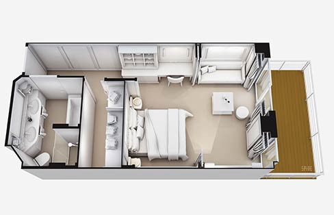 Layout Superior Suite