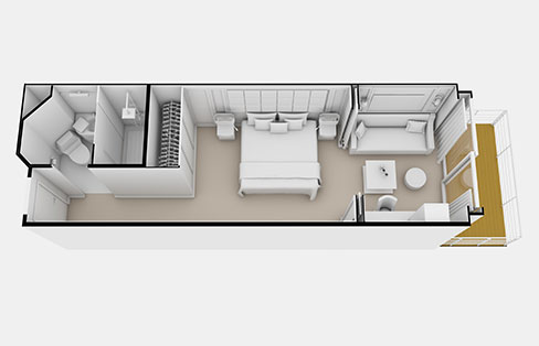 Layout Veranda Suite