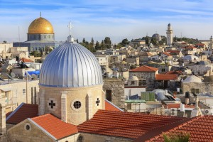 Isreal-Jerusalem-Old-Town-with-Armenian-Catholic-Church-Our-Lady-of-the-...