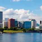 Portland from Windstar